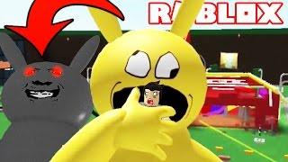 EVIL PIKACHU ME EATS EN ROBLOX / Roblox Adventure / A Very Hungry Pikachu