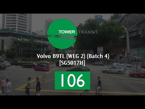 Tower Transit Volvo B9TL (WEG 2) (Batch 4) [SG5017H] - Service 106