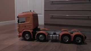 tamiya 8x8 dump truck