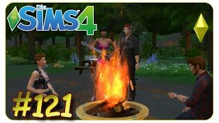 Gitarrenspiel am Lagerfeuer #121 Die Sims 4 - Gameplay - Let
