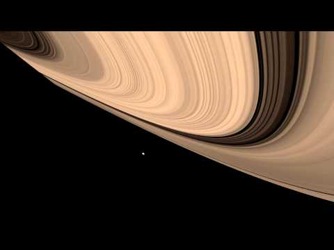 In Saturn's Rings 56k Saturn Cassini Photographic Animation