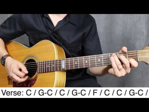 Down on the corner CCR Guitar lesson  Tutorial  How to play
