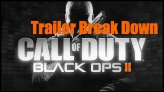 Black Ops 2 - In-depth Multiplayer Breakdown (Call of Duty BO2 Trailer Analysis Gameplay)