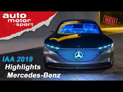 Die Mercedes-Highlights der IAA 2019: Das Beste oder nichts? I auto motor und sport