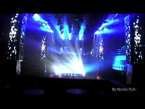 light show Miami to atlanta Pryda at Mixclub show lumière et vidéo