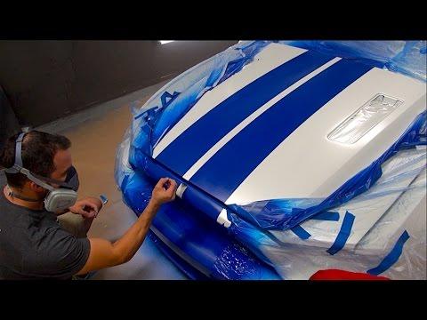 How To Spray Racing Stripes With Plasti Dip