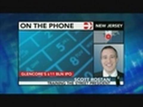 Rostan Says Glencore Effectively a `Money Machine'
