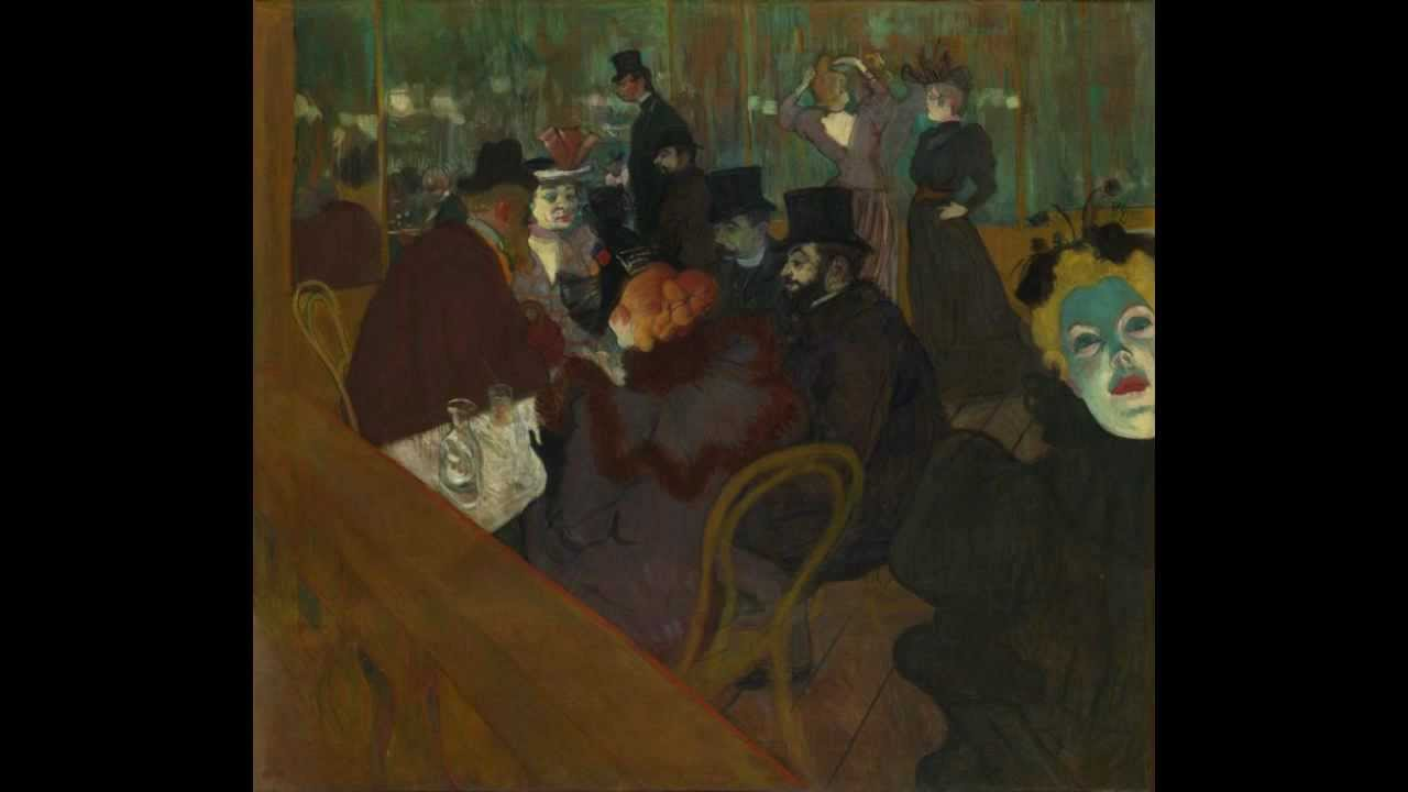 Toulouse Lautrec At The Moulin Rouge