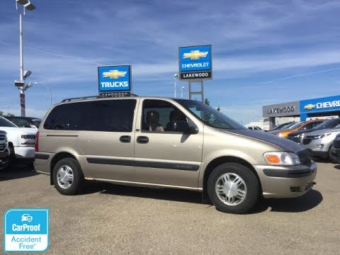 2001 Chevrolet Venture Ls 1815661 Youtube