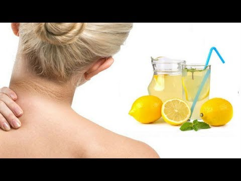 How To Get Rid Of Dark Neck With Lemon