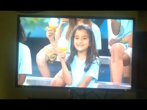 "Talia Bacha participates in the program ""Super Human"" in CBS studio center"