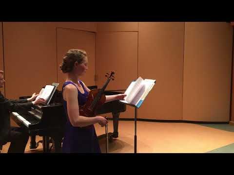 Solo Violin Recital - Hartt School