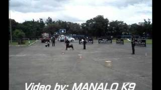 Manalo K9 Video: K9 Fun Match - Camp Crame, Philippines (vintage Video)