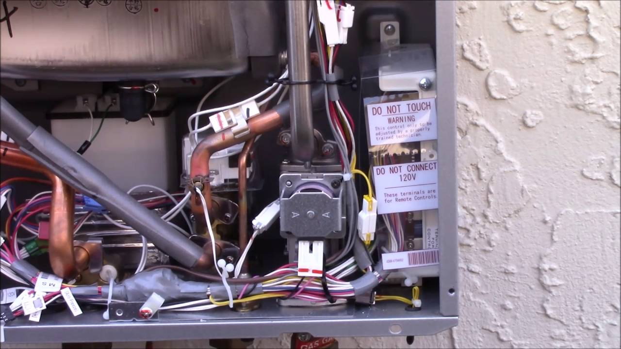 Rinnai Bath Controller Wiring  YouTube