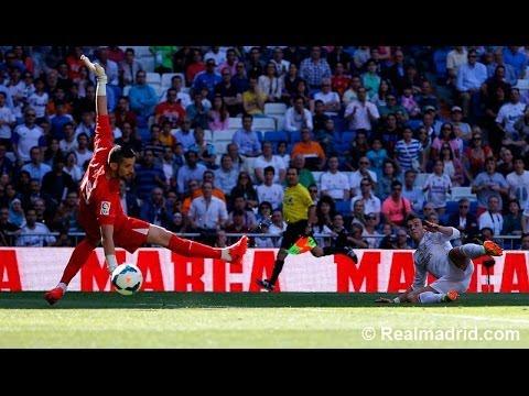 GOALS / GOLES: Real Madrid 3-1 Espanyol | La Liga 17/05/2014