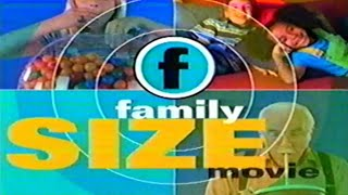 Family Channel (2000) - Family Size Movie Intro