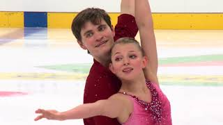 Elizabeth Vasilevna KOPMAR / Jonah BARRETT USA - Pairs Free Skating MINSK 2017