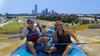 Go Whitewater Rafting In The Middle Of Oklahoma City