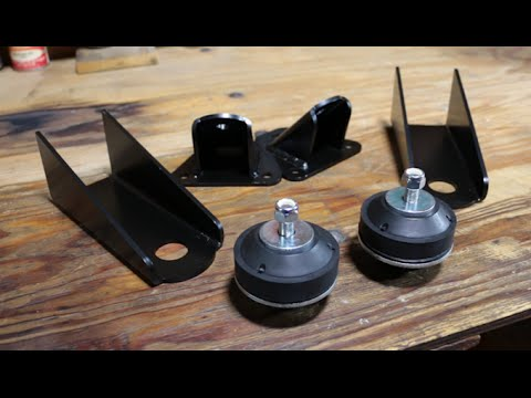 model a ford engine mounts