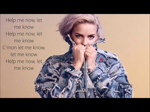 Snakehips & Anne Marie ft. Joey Bada$$ - Either Way | Lyrics on Screen