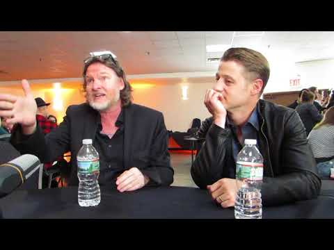 NYCC 2017: Gotham GCPD's finest Donal Logue and Ben McKenzie