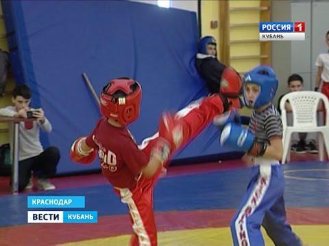 В Краснодаре прошел юбилейный турнир по кикбоксингу