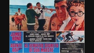 James Bond Poster Compilation - The George Lazenby Year