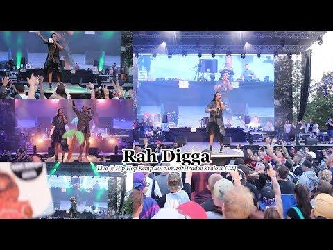 Rah Digga • Live @ Hip Hop Kemp 2017.08.19, Hradec Kralove [CZ] #HHK2017