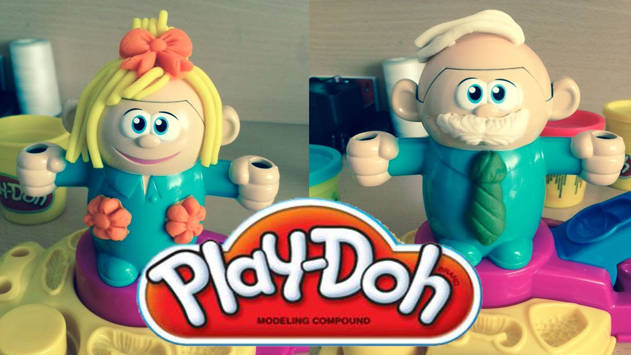 Play Doh Fuzzy Pumper Crazy Cuts Hair Cut Play Doh Playset Youtube