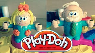 Play Doh | Fuzzy Pumper Crazy Cuts Hair Cut Play Doh Playset HD