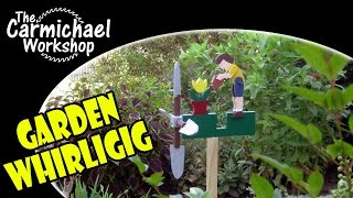 How To Make A Whirligig For Your Garden - Easy Diy Weekend Outdoor Project