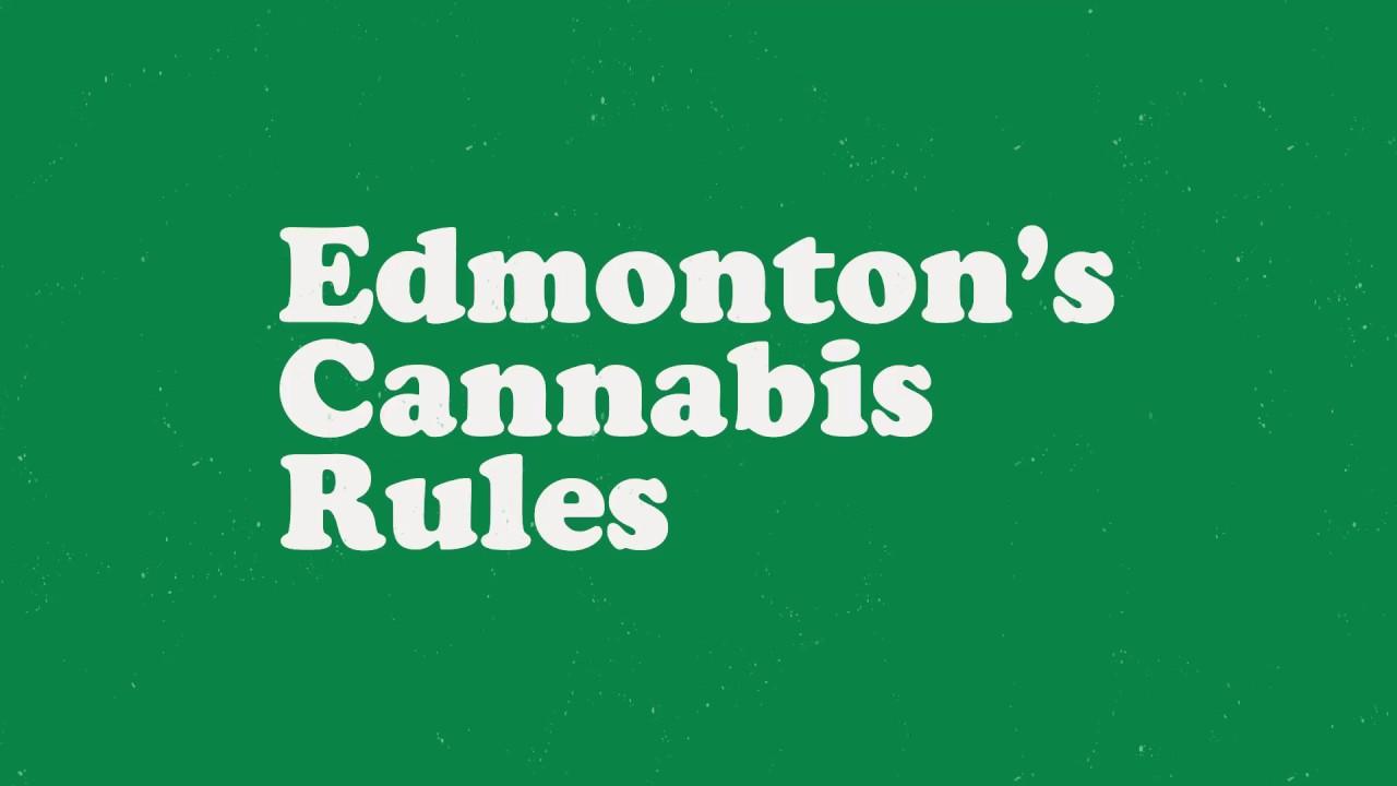 Edmonton's Cannabis Rules :: City of Edmonton