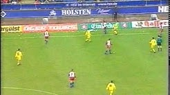 SSV Ulm 1846 - Hamburger SV (Fussball Bundesliga Highlights 2000)