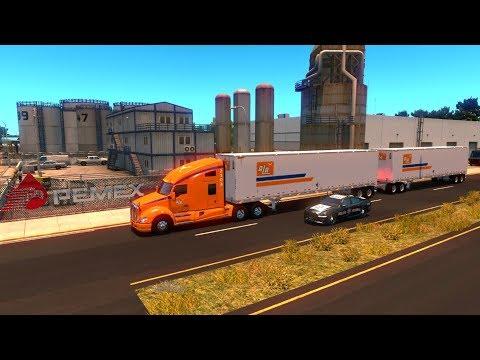 Doble Remolque ALA | De Durango a Gómez Palacio por autopista | Kenworth T680