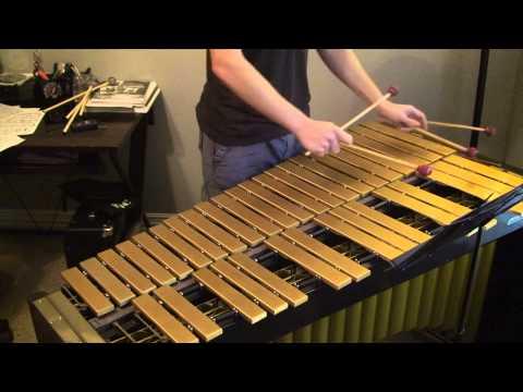 Beneath the Snow Vibraphone Solo by Nick Werth