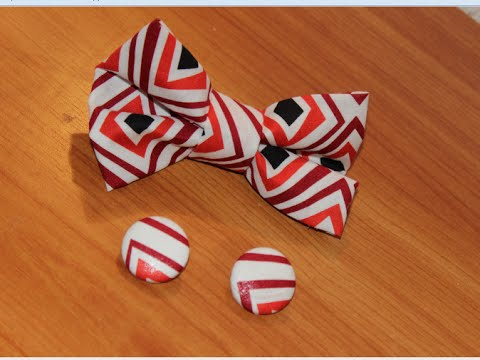 Diy How To Make Bow Tie