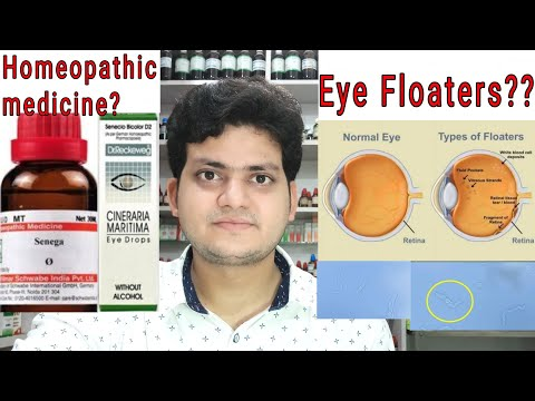 Eye Floaters! Homeopathic medicine for Eye Floaters?? Explain!!