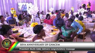 50th Anniversary Celebration of GHACEM
