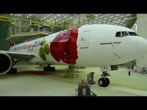 Boeing 777-F: from Emirates SkyCargo with Love