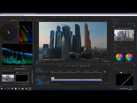 Цветокоррекция в Adobe