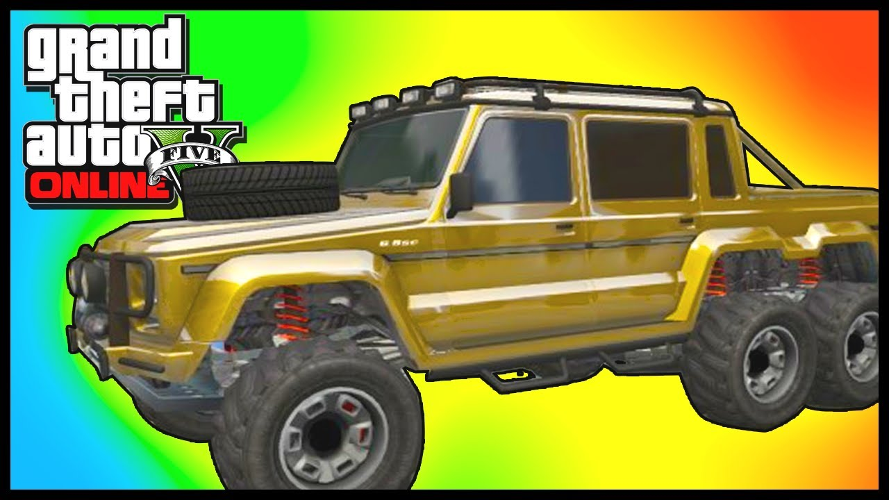 GTA 5: STRONGEST CAR! - GTA V \