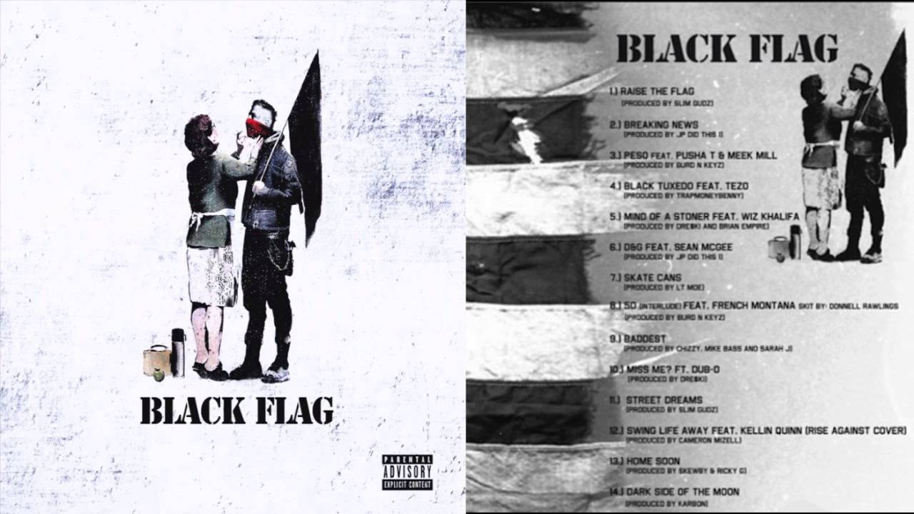 machine gun black flag free