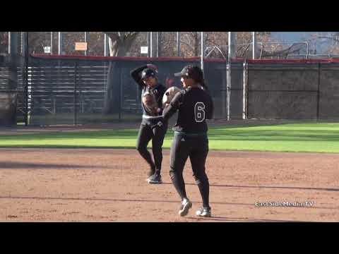 East LA College Huskies Softball at Riverside College Tigers  2018
