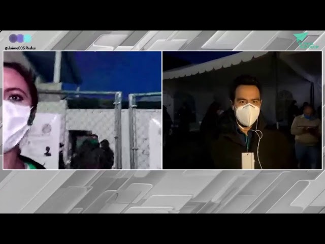 Continuamos con la transmisión de la tarde con los últimos detelles desde Hidalgo.