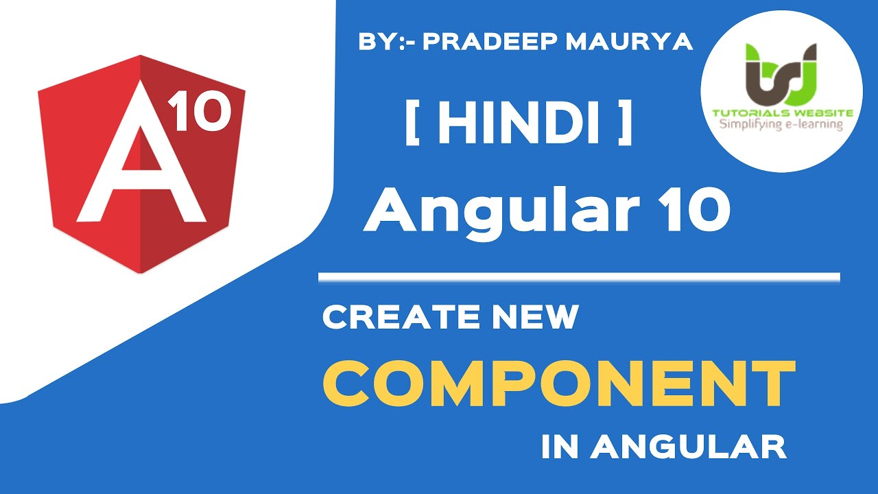 Component in Angular | Use of Component | Angular 10 Tutorials in Hindi | Part-6