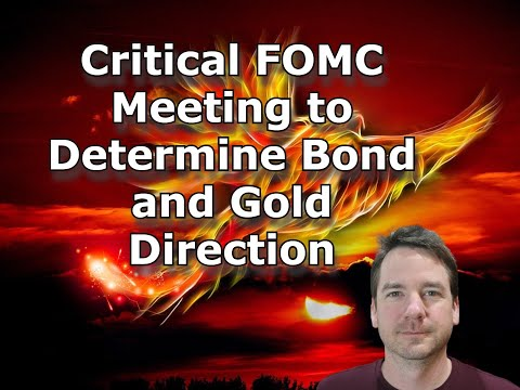 Critical FOMC Meeting to Determine Bond and Gold Direction