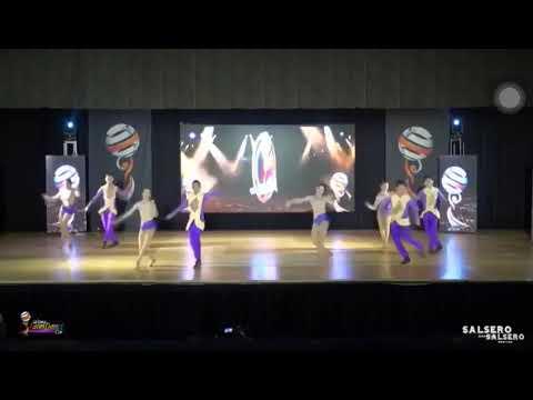World latin dance cup 2017 /junior team /mestizoart center / 1er puesto