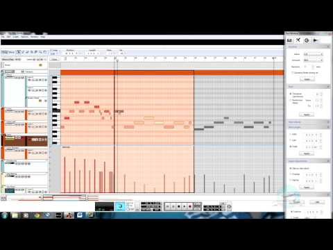 Song and Harmony Structure, Tweaking Midi Sequencer Data - Designing Music 1.4.1.2:9