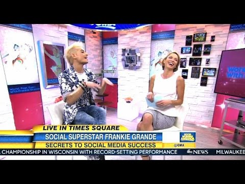 Frankie Grande - Worst Post Ever (Interview) - GMA