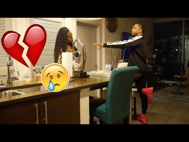 IM LEAVING YOU FOR MY EX PRANK ON BOYFRIEND (HE CRIED?)!!!